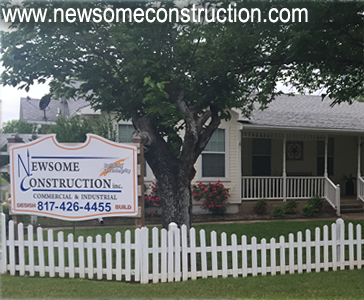 Newsome Construction is located in Burleson, Texas