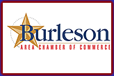 Proud member of the Burleson Chamber of Commerce